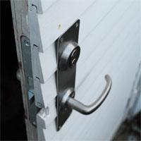 ny lås til dør